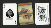 "Collectible Advertising playing cards, P.&O. shipping line, ""Mongolia"""